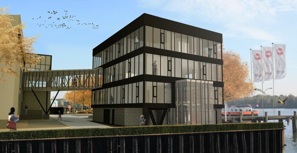 nieuwbouw kantoor Bioderij