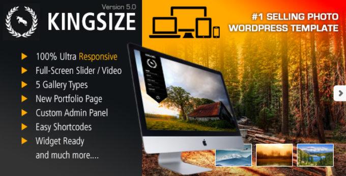 Change Log for KingSize WordPress version 5.1