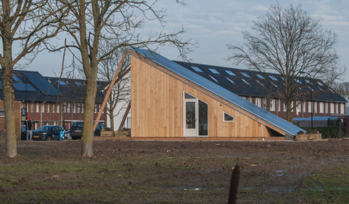 de eerste SolarCabin